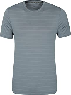 Langarm-T-Shirt UV-Schutz Mountain Warehouse Aspect Panel Herren-T-Shirt
