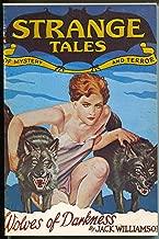 Strange Tales 1932-weird menace pulp reprint-Howard-Cave-VF