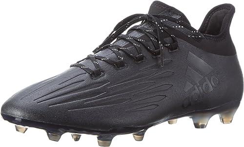 Adidas X 16.2 Fg - equipos de fútbol Hombre, MultiColor (Cnegro Cnegro Dkgris), 40 2 3 EU
