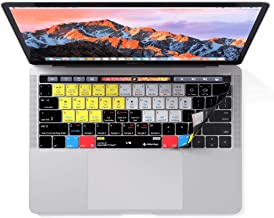 Djay Keyboard Cover | Shortcut Skin for MacBook Pro with Touch Bar 13