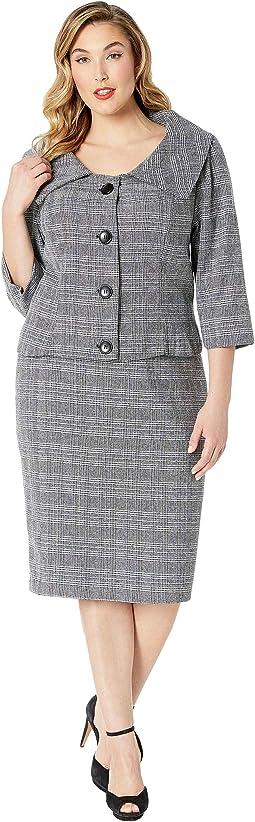 Plus Size Barbie x Career Girl Suit Set