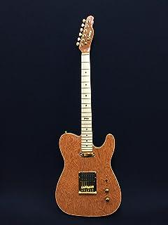 Haze HSTL 1930-970 Solid Electric Guitar,S-H,Light-Brown Stripes Wave+Free Bag