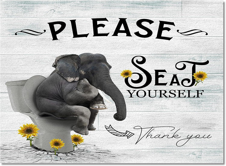 store Meet 1998 Funny Elephant Sit Toilet Sun Durable In stock Indoor Rugs Area
