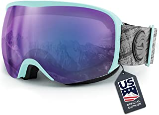 Wildhorn Cristo Ski Goggles – US Ski Team Official Supplier – Snow Goggles..