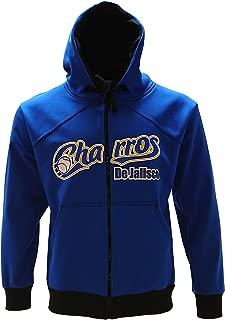 Arza Sports Charros de Jalisco Full Zipper Warm Sweater Blue With Black