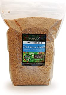 Tri-Clover by Eretz - Three Part Blend of Clovers Providing Beauty, Cover, and Natural Attractant. No Coatings or Fillers,...