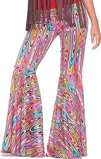 Women's Generation Hippie Wild Swirl Bell-Bottom Costume Pants