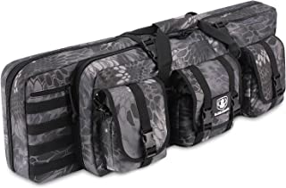 Barbarians Tactical Rifle Bag Case, 36 Inch Molle Rifle Bag Backpack