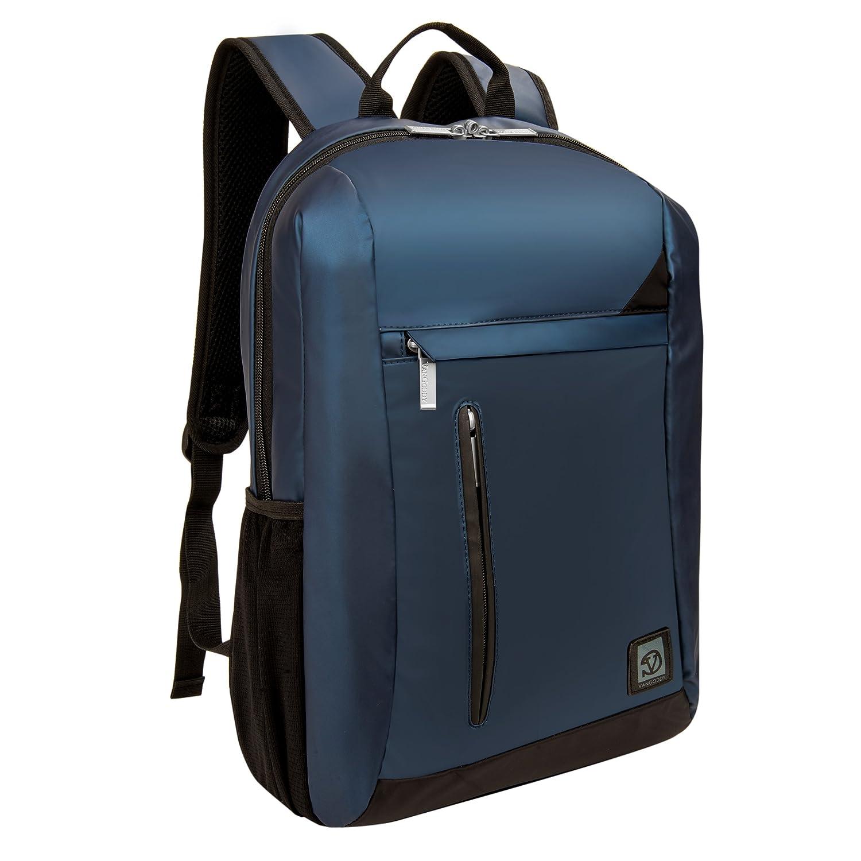 VanGoddy Navy Blue Anti-Theft Laptop Backpack Suitable for Lenovo ThinkPad, IdeaPad, Flex, Yoga, Legion, N Series, Chromebook up to 15.6inch