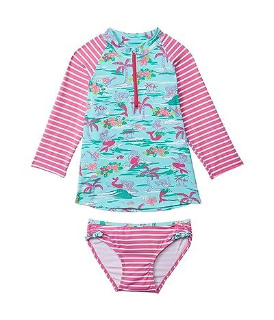 Hatley Kids Tropical Mermaids Rashguard Set (Toddler/Little Kids/Big Kids)