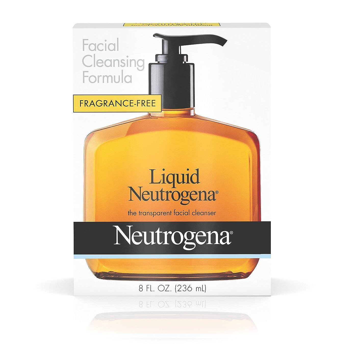 一握りとティーム衝突するNeutrogena 液体洗顔式、8フロリダ。オンス