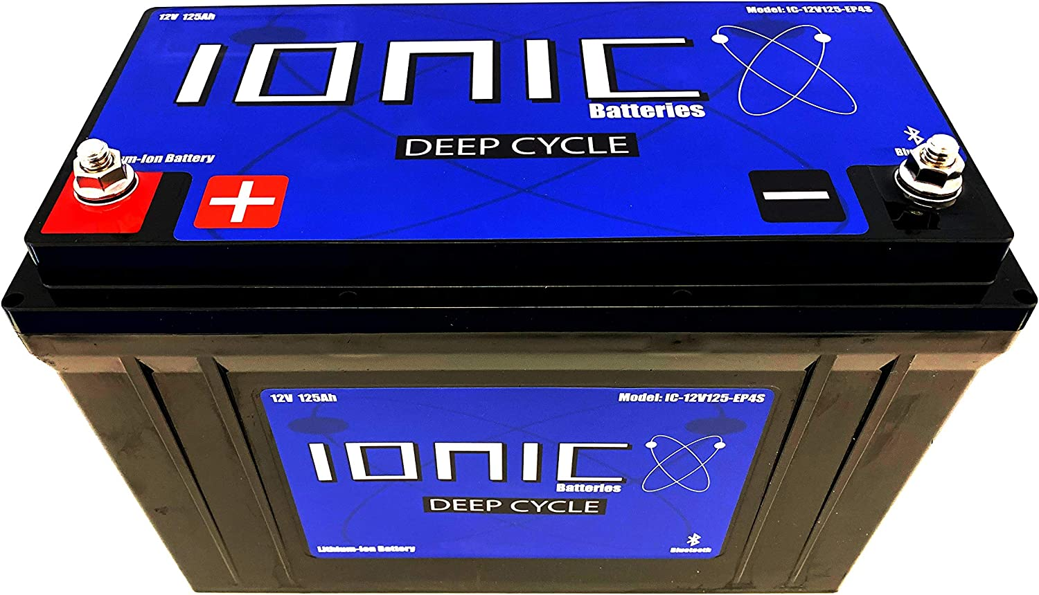 Lithium Ion Deep Cycle Battery - 12V125-EP 12V LiFePO4 NEW OFFicial before selling 1 Ionic