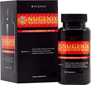 Nugenix Sexual Vitality Booster - Nitric Oxide Supplement - 30 Count