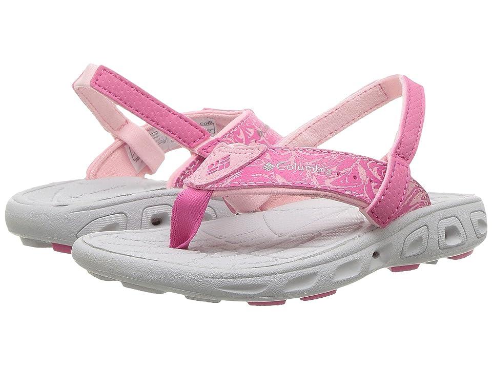 Columbia Kids Techsun Flip (Toddler/Little Kid) (Wild Geranium/Lux) Girls Shoes