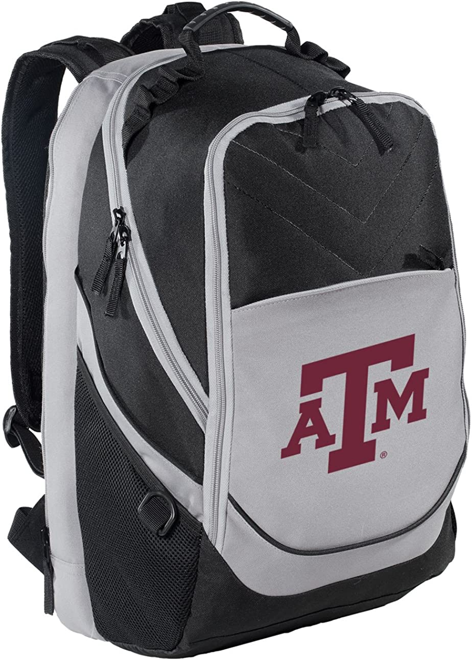 Texas AM Backpack At the price of surprise Aggies Laptop Bag Computer Fees free!!