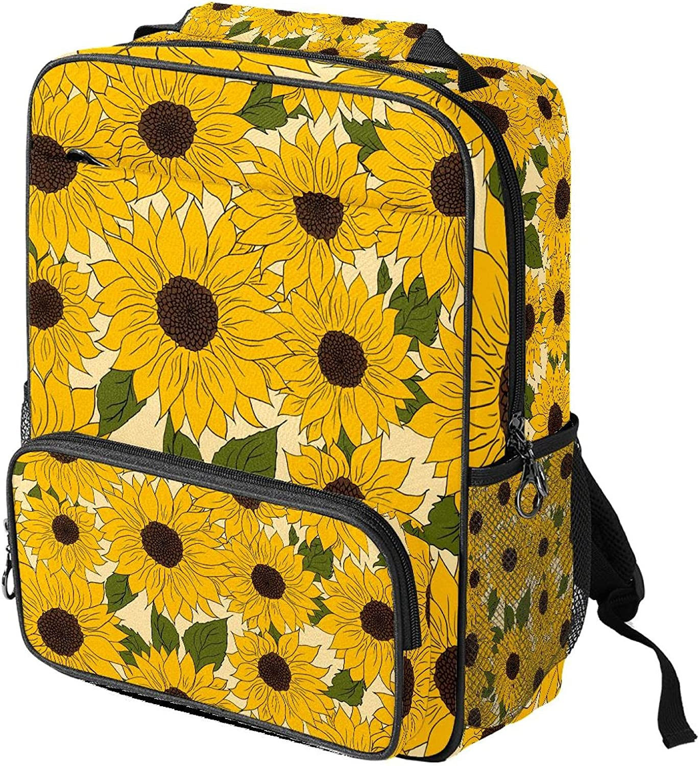 40% OFF Cheap Sale Backpack low-pricing for Girls Sunflower School Waterproof B