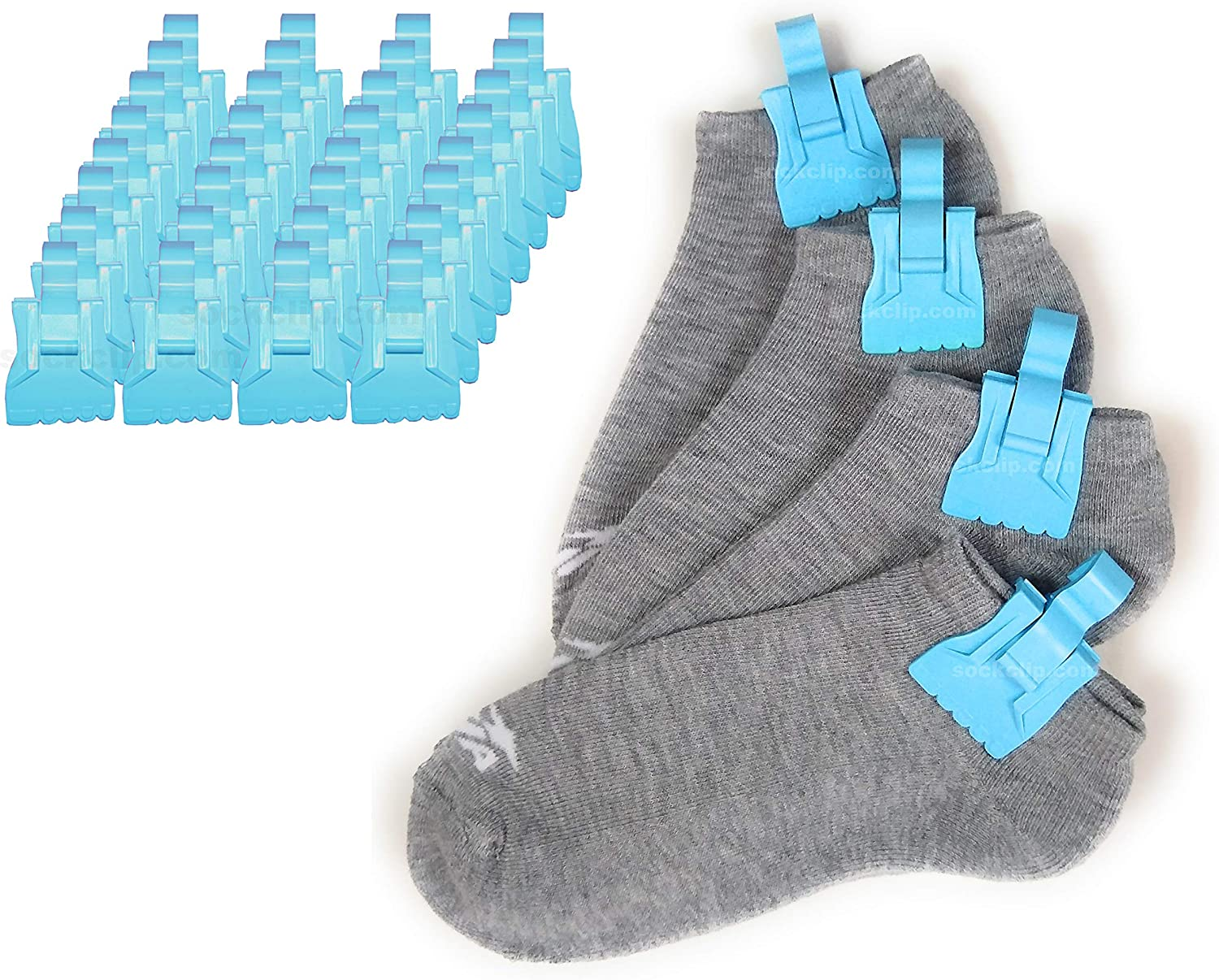 Ranking integrated 1st place The Amazing Sock Clip Holder 32 Baltimore Mall Blue Made Baby in Clips
