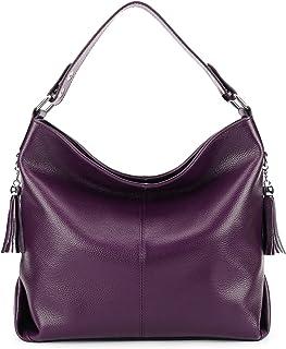 BIG SALE-AINIMOER Womens Leather Vintage Shoulder Bag Ladies Handbags Large Tote Top-handle Purse Cross Body Bags