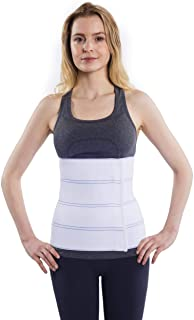 """Best NYOrtho Abdominal Binder Lower Waist Support Belt - Compression Wrap for Men and Women (30"""" - 45"""") 4 Panel - 12"""" Review"""