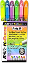 GTL Accu-Gel 6 Piece Bible Study Gel Highlighter Set