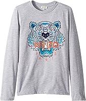 Kenzo Kids - Tiger T-Shirt (Big Kids)