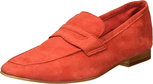 Kenneth Cole New York Wohommes Dean Unlined Flexible Penny Loafer Loafer Loafer Flat, rouge, 7 M US 20a