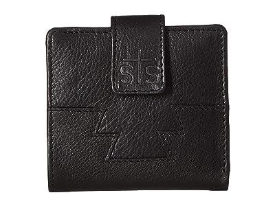 STS Ranchwear Harlow Wallet (Black) Handbags
