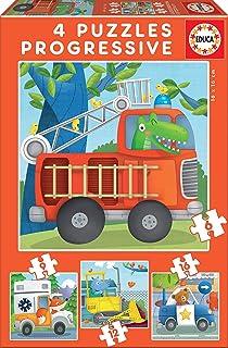 Educa Patrouille Puzzle (6-9-12-16 Piece)