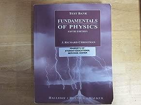 Test Bank to accompany Fundamentals of Physics, 5th Edition