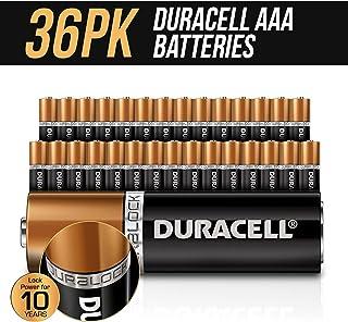 Duracell AAA Batteries x 36 pack New Genuine Alkaline Dura Lock Power 10 Years