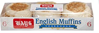 Bays Sourdough English Muffins (12, 6 Ct Packages)