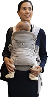 Boppy ComfyChic Baby Carrier, 4 Carrying Positions, Pearl