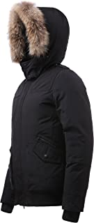 Arctic Residents New York Winter Coat for Men Down Jacket with Hood