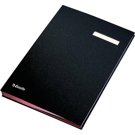 Q-Connect Signature Book 20 Pockets Green