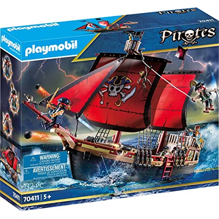 Playmobil Barco Pirata Calavera Mx Juegos Y Juguetes