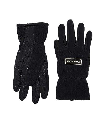 Dakine Transit Fleece Gloves (Black) Extreme Cold Weather Gloves