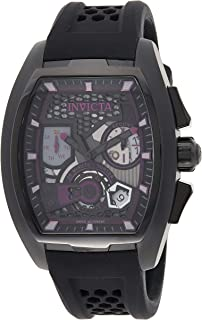 Invicta 25936 S1 Rally Men's Wrist Watch Stainless Steel Quartz Purple Dial, Analog Display