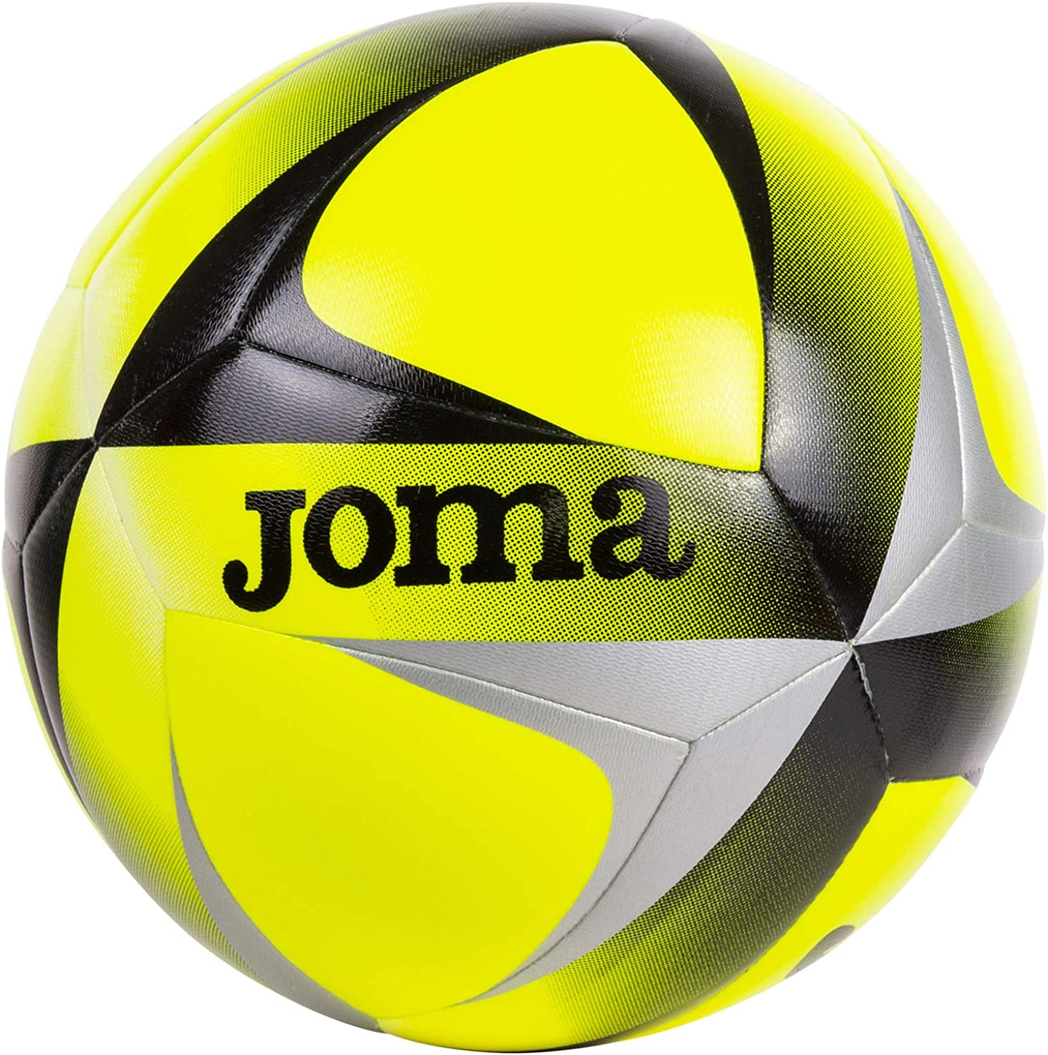 Joma 12 Balls Hybrid Evolution 400449 Yellow FluoBlack T5 Uniforms Pallone