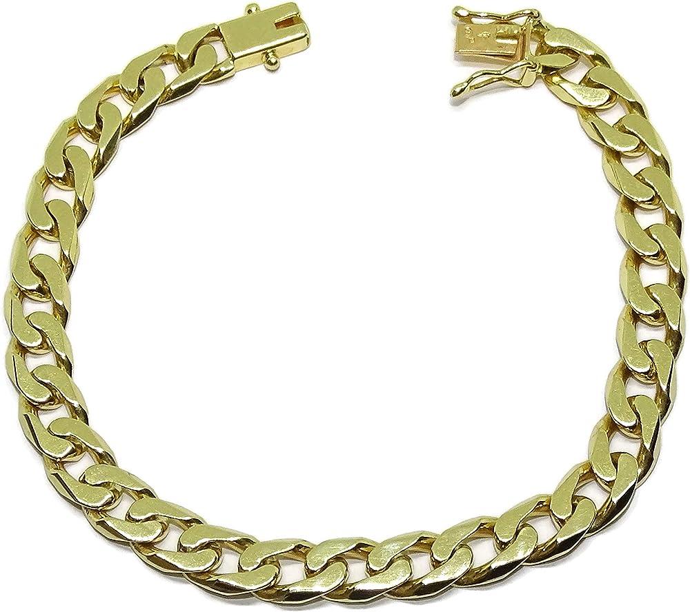 Bracciale da uomo in oro giallo 18 carati 88002705