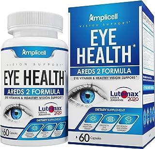 Eye Health AREDS 2 - Eye Vitamins - Lutemax 2020 Lutein and Zeaxanthin - Eye Multi Vitamins for Adults with Vitamin E, Vit...
