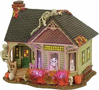 Department 56 4056702 Halloween Village Lit the Skeleton House