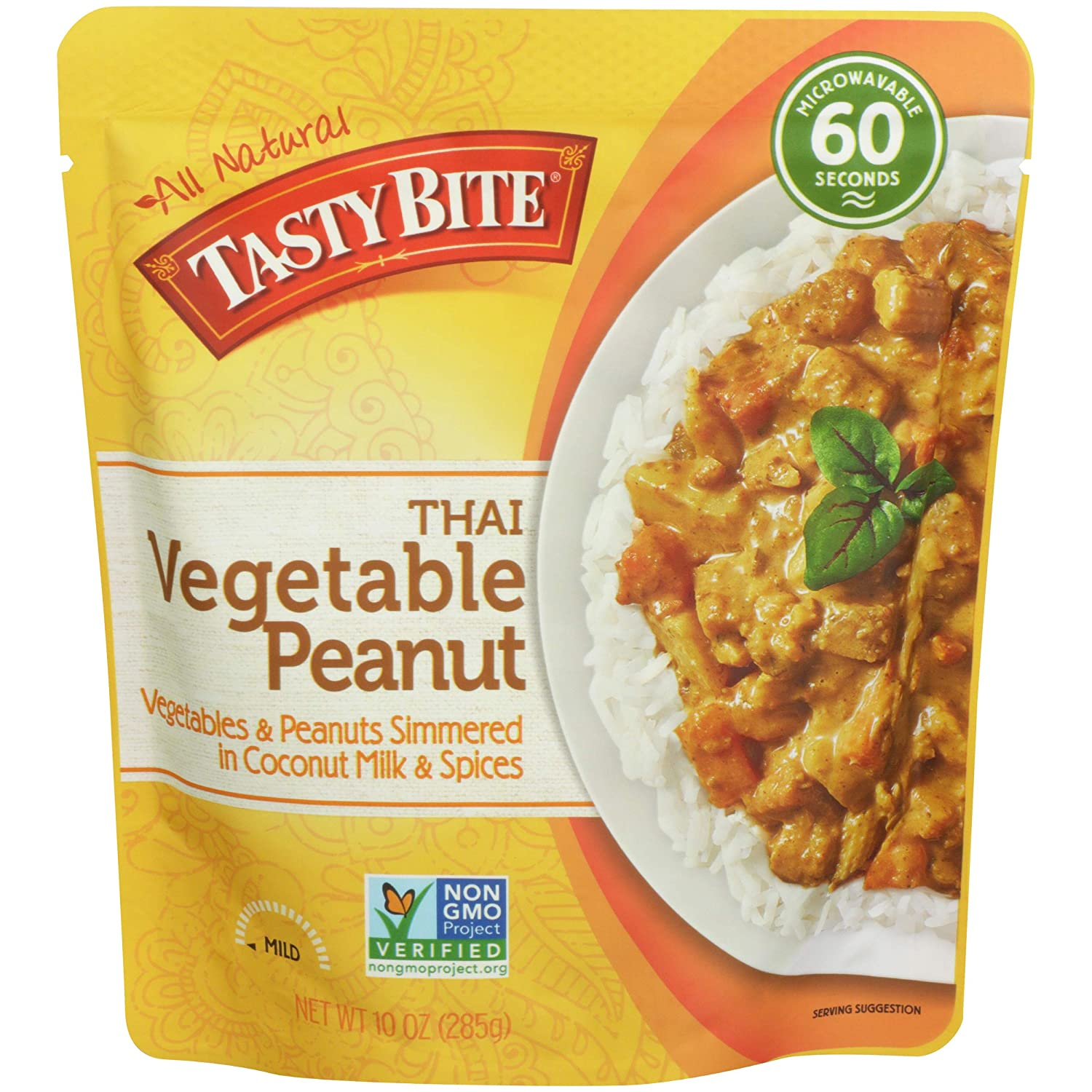 Tastybite specialty shop Entree Thai Vegetable Ounce Peanut Purchase 10