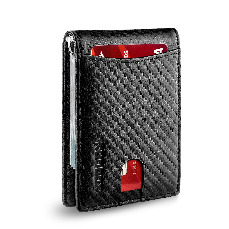 Minimalist Bifold Pocket Wallet Blocking
