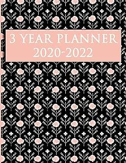 3 Year Planner 2020-2022: 36 Month Calendar | Monthly Schedule Organizer