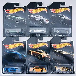 Hot Wheels 2019 Walmart Exclusive Exotics - '14 Corvette Stingray, '17 Ford GT, Bentley Continental Supersports, McLaren P...
