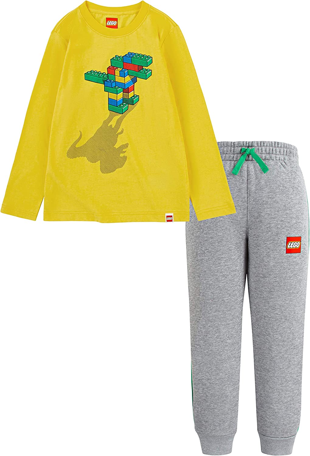 LEGO Boys' Long Sleeve Limited time for free shipping and Max 45% OFF Pants 2-Piece Set Jogger Outfit