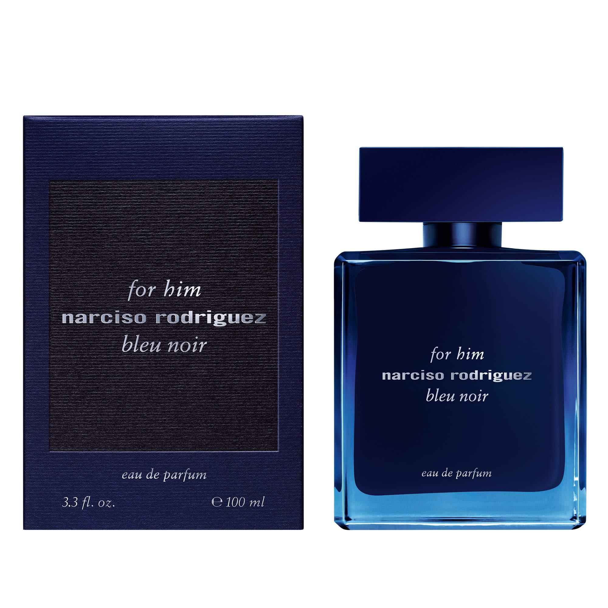 Narciso Rodriguez Bleu Noir Eau de Parfum Spray for Men, 3.3 Ounce
