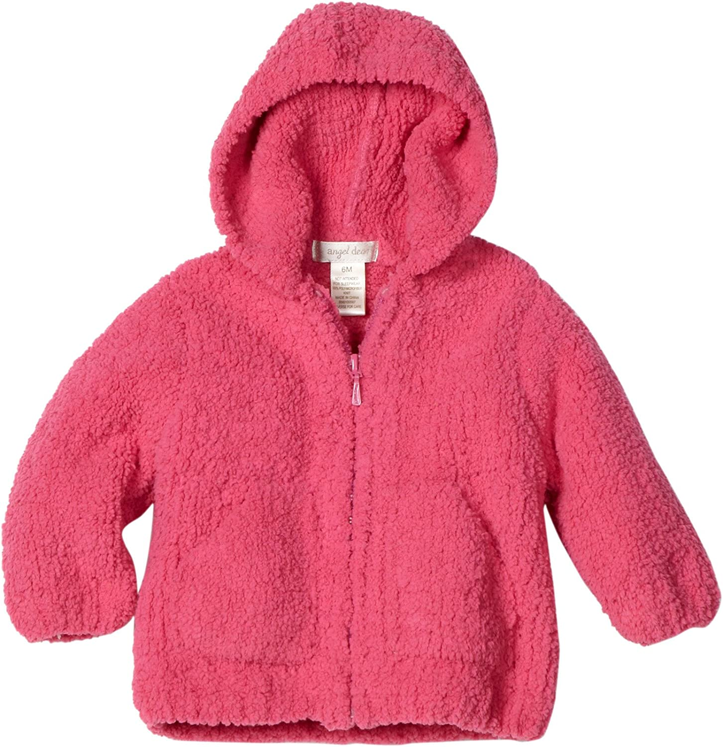 Angel Dear Limited price 5 ☆ popular Baby-girls Infant Chenille Jacket Hooded