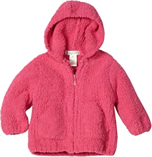 Baby-girls Infant Chenille Hooded Jacket