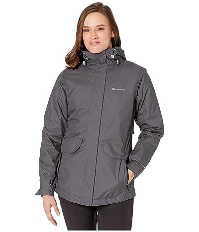 Columbia Emerald Lake II Interchange Jacket (Black/Diamond Texture/Black) Women